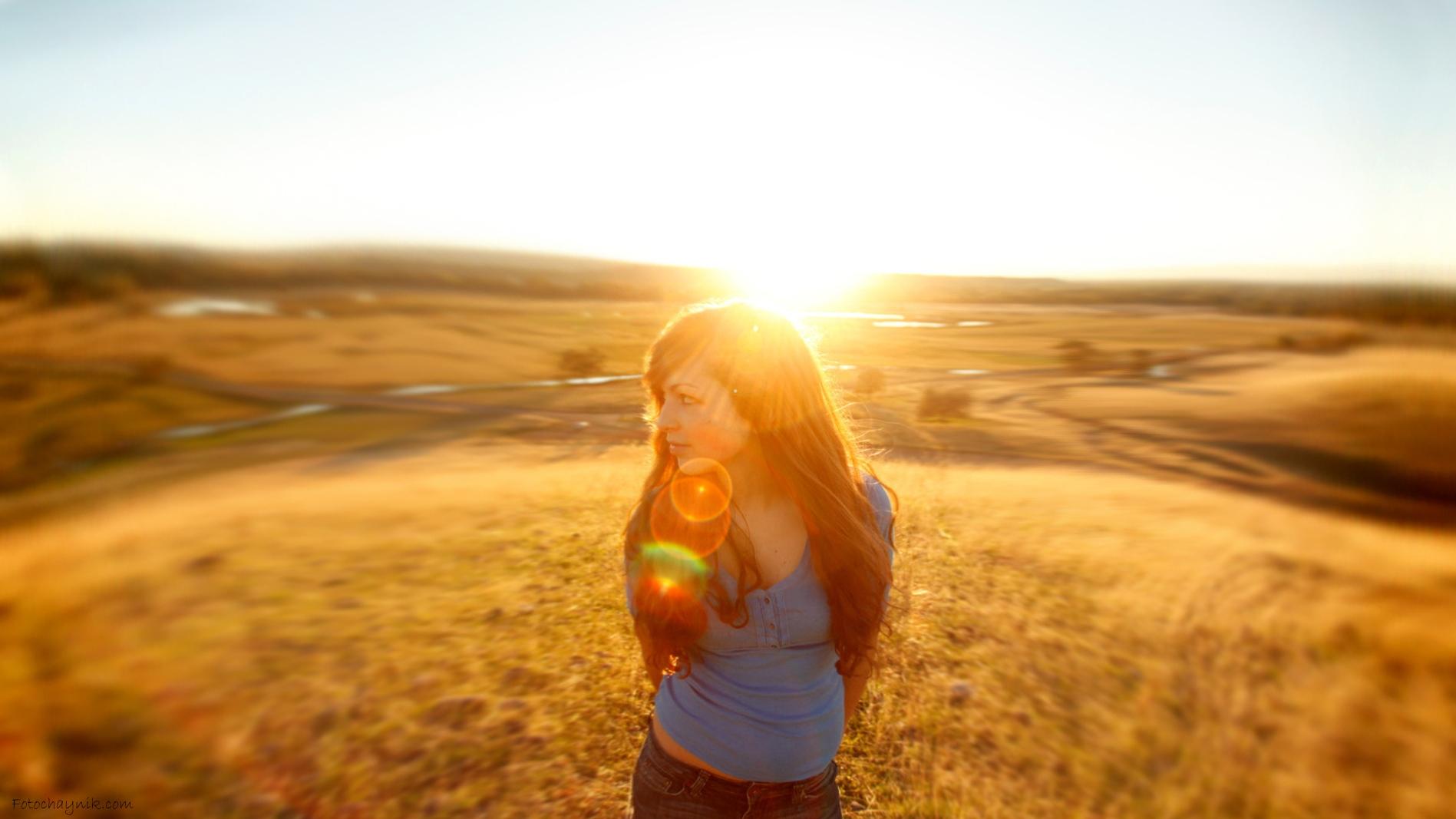 снимки напротив солнца