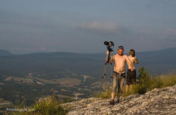 пейзажная съемка в горах