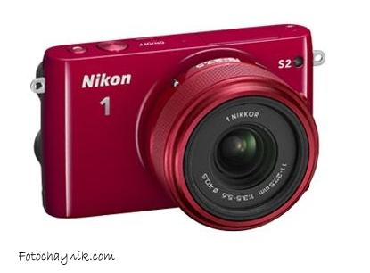 Nikon 1 S2 красный