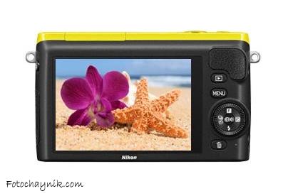 Nikon 1 S2 желтый