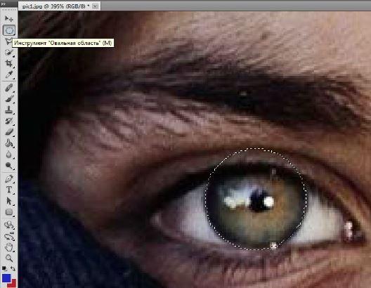выделение изображения в Фотошопе