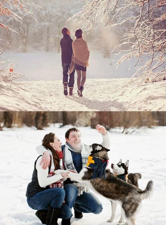 Идеи зимней Love Story